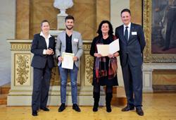 Urkundenverleihung Deutschlandstipendium des Goettinger Palliativvereins an Christian Popescu 2012
