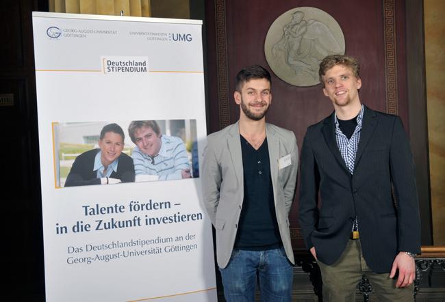 Deutschlandstipendium des Goettinger Palliativvereins 2012