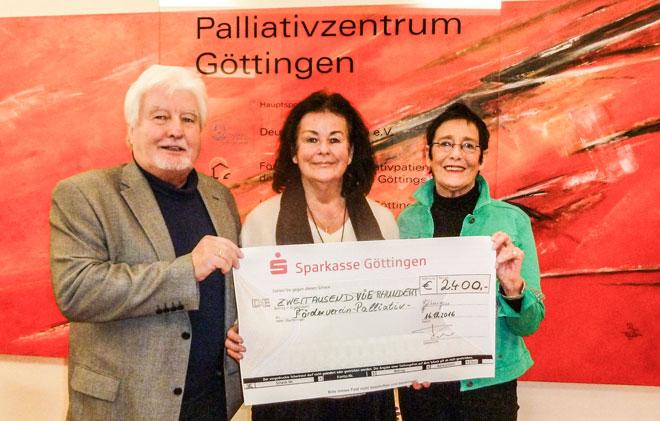 Spende von Heidi und Klaus Faber