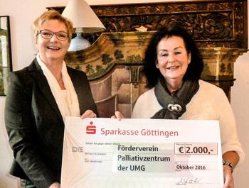 Spende Annette Schüller